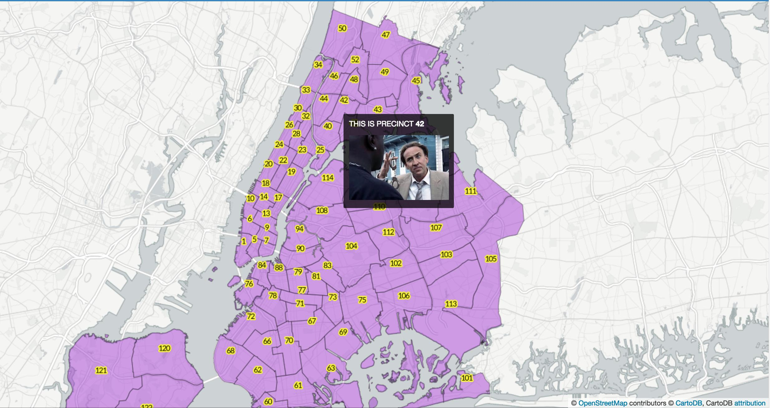 image Mapping NYPD precincts with CartoDB